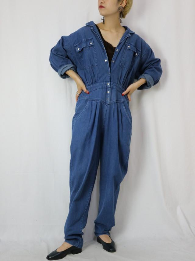 denim jump suits 【5748】