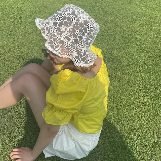 yurina lace hat