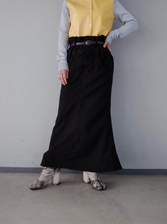 used LIMI feu long skirt