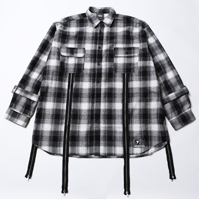 ECHO -Zip Wide Shirts-