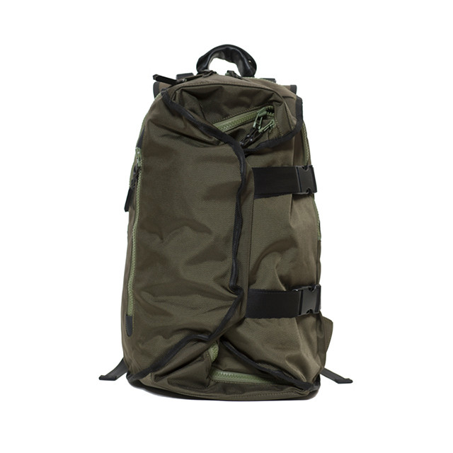 LORINZA Double Strap Backpack Khaki LO-STN-BP01