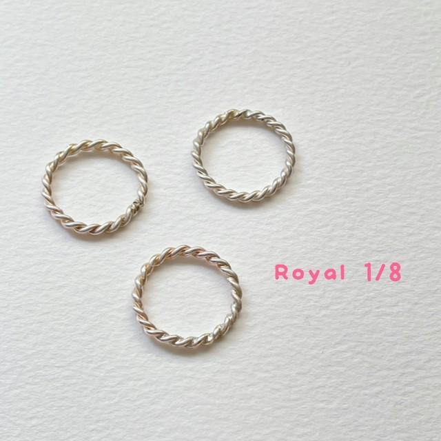 silver テンソルリング royal cubit  1/8