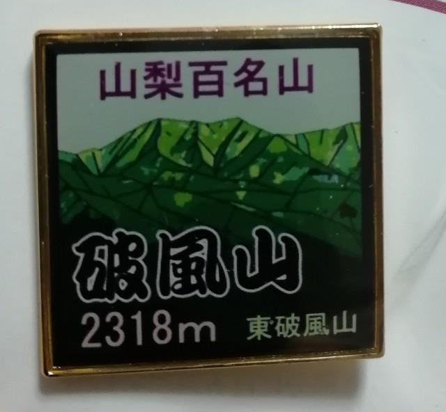 篠井山 バッジ