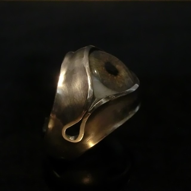 12 ONYX RING ~silver~