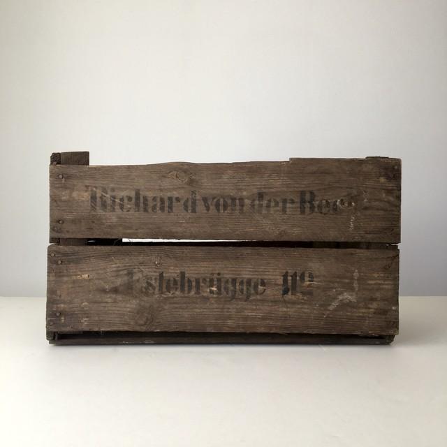 ヴィンテージのリンゴの木箱③|Vintage German Apple Box