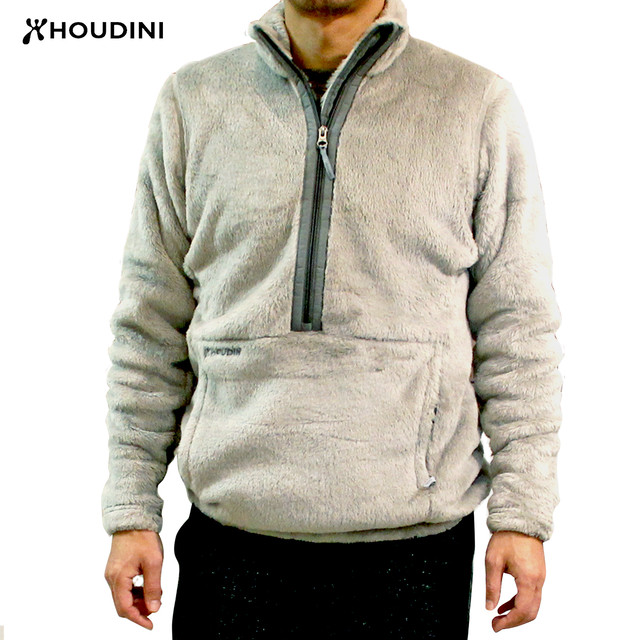 HOUDINI   Mens Hairy Half Zip