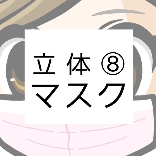 【マスク】立体マスク⑧(夏向け)
