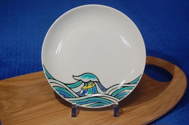 丸皿 サーファー