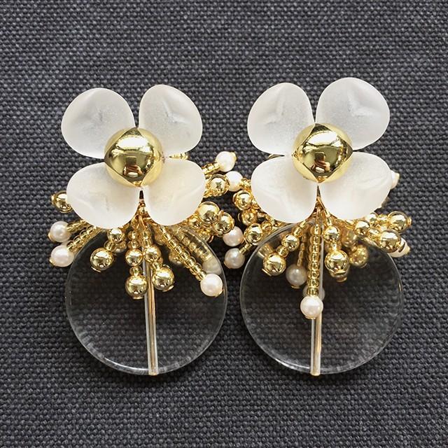 BLOOM Beads Tassel ピアスのみ - gold-