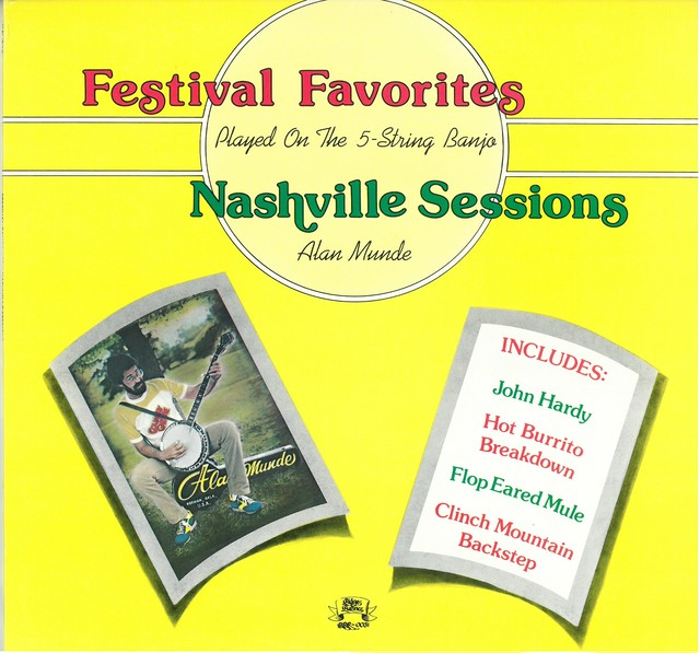 ALAN MUNDE / FESTIVAL FAVORITES-NASHVILLE SESSIONS (LP) USA盤