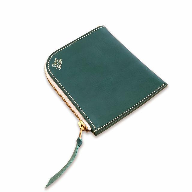Sean&ben L Zip Wallet - Turquoise