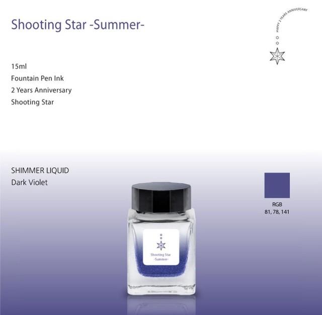 SHIMMER liquid  Shooting star  summer