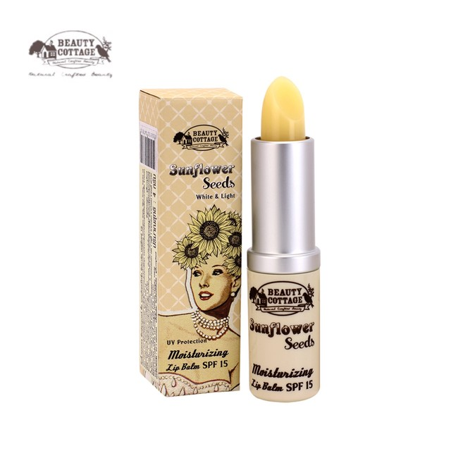【NEW】SUNFLOWER SEEDS MOISTURIZING LIP BALM SPF15