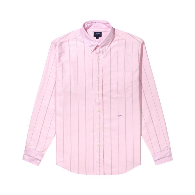 Oxford Pinstripe Shirt(Pink)