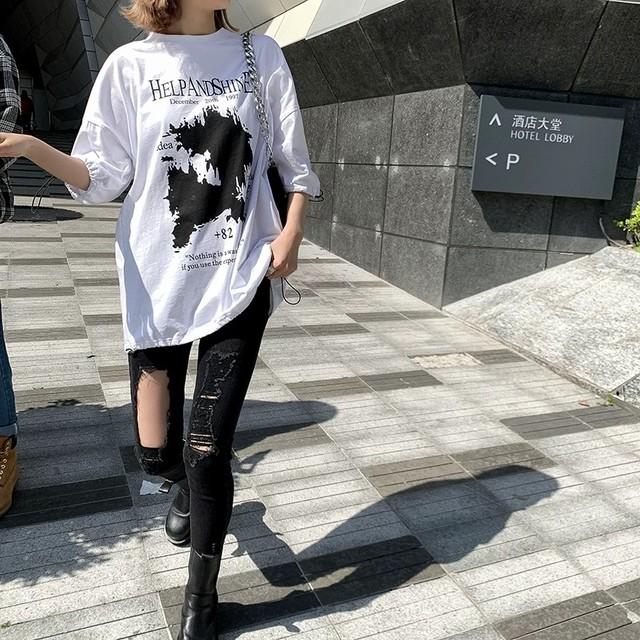 monotone map t-shirt