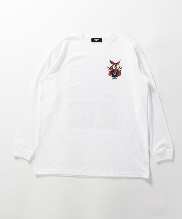 MYne CODEX 別注 L/S T-shirt / WHITE - メイン画像
