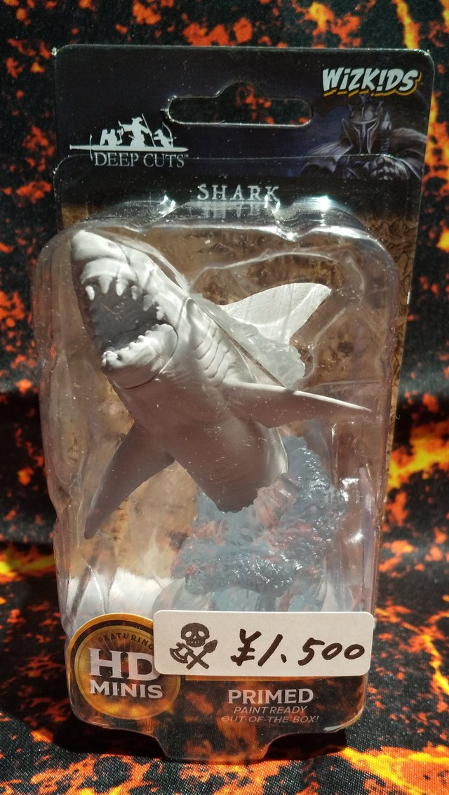 Shark(D&Dオフィシャルミニチュア「Nolzur's Marvelous Unpainted Miniatures」シリーズ)