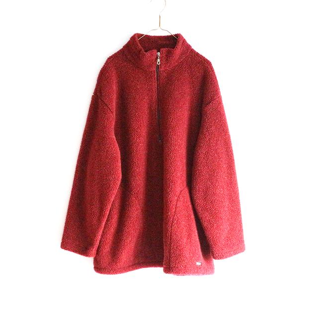 dark red simple fleece_PO