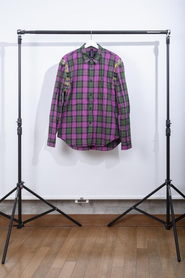 BHS-1 チェックシャツ①