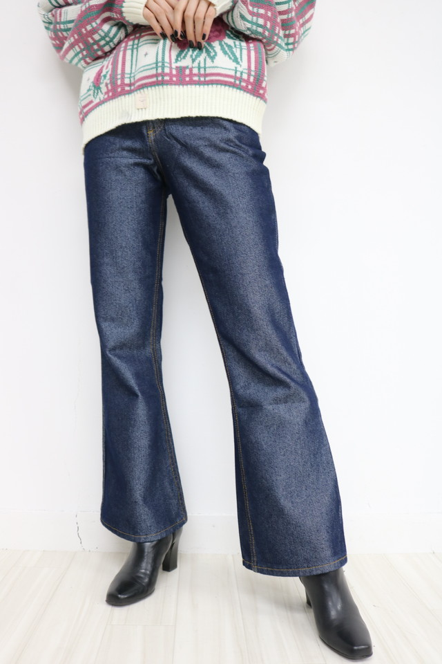 flare denim pants / PT11130016