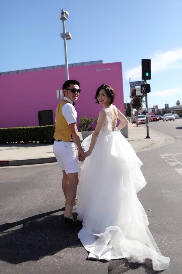 Confetti\ Bride♡チュールのバイカラーセパレートドレス パープル