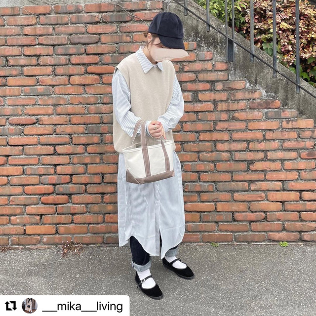 ⁂instagrammer着用ITEM⁂ ストライプシャツワンピース 2colors