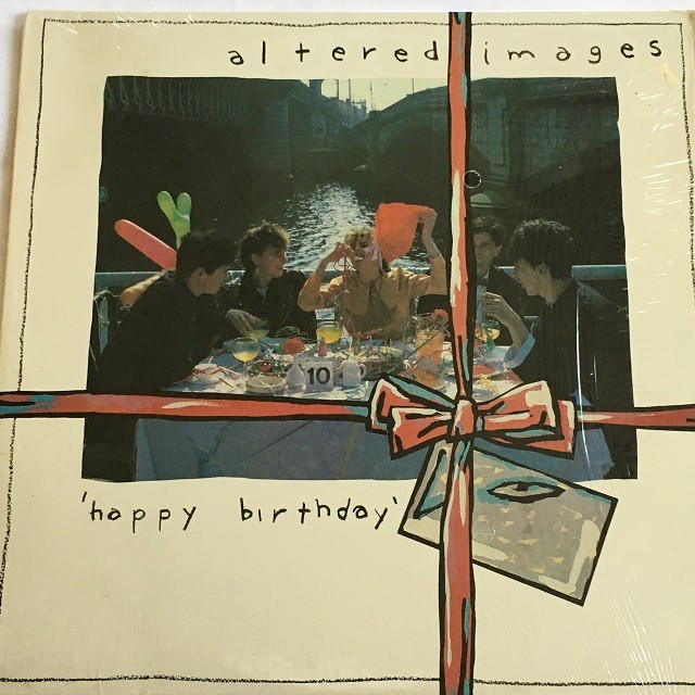 【LP・米盤】Altered Images  / Happy Birthday