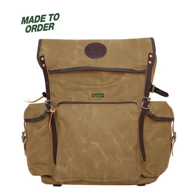 新品 Duluth Pack Pathfinder Pack -Waxed Khaki