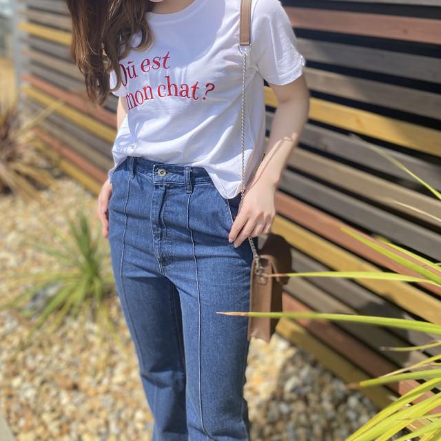 MARIEDOR マリードール 刺繍ロゴtシャツ /30023