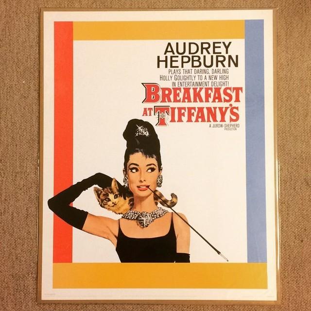 ポスター「オードリー・ヘプバーン ティファニーで朝食を」 - メイン画像