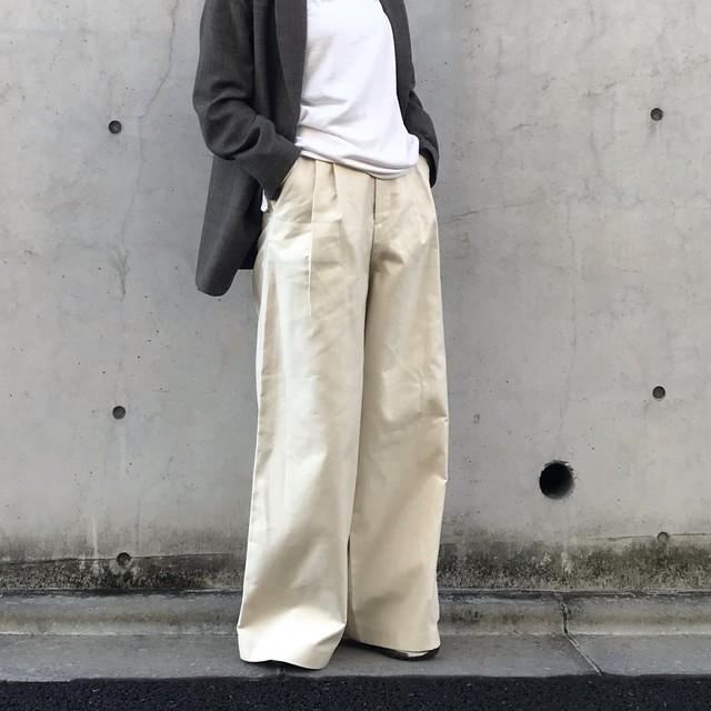 Liyoca サマーコールワイドパンツ【20SS】