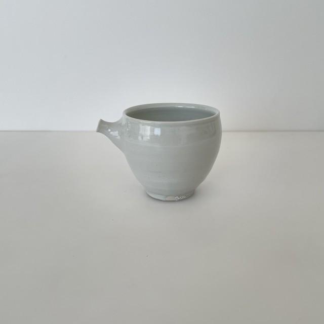 清水善行    白磁  茶海