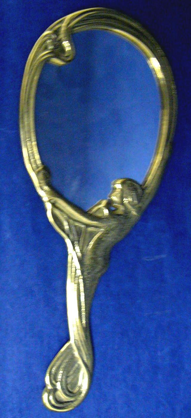 手鏡 handmirror made in itary