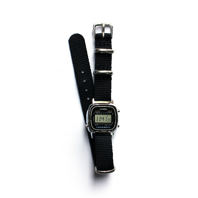 CASIO BASIC DIGITAL 03 for Lady's / NATO-type Strap