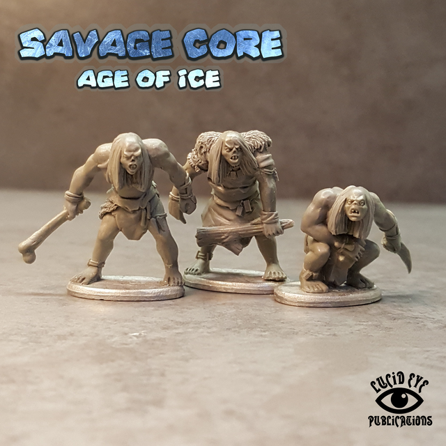 CORE2 The Corelock Bods 2 (3 figures pack)