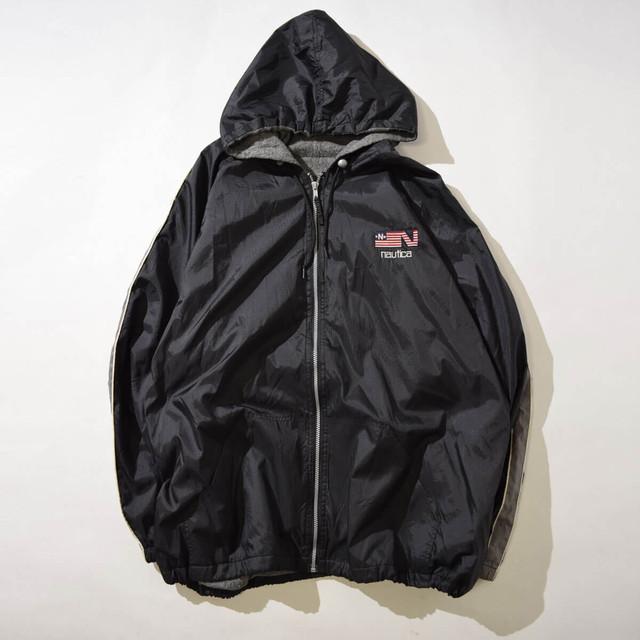【XXLサイズ】NAUTICA ノーチカ Fooded JKT フードジャケット BLK ブラック XXL 400610191223