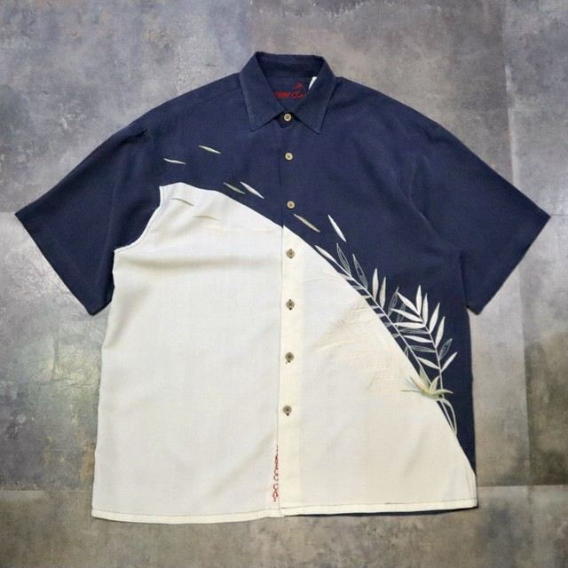 switching embroidery design shirt