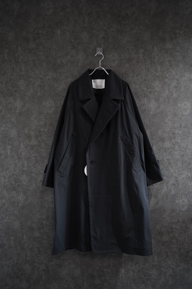 VOAAOV SUSTAINABLE NYLON COAT Black