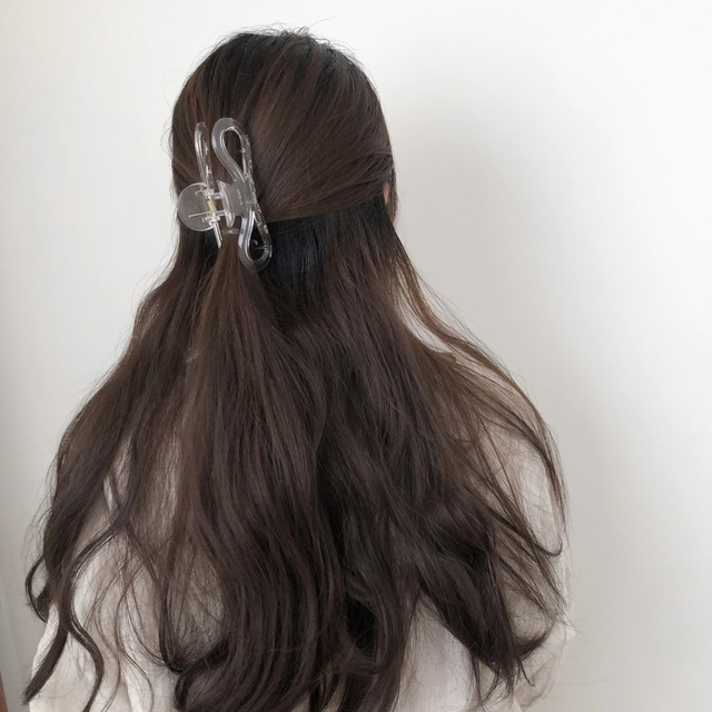 lilac hair clip(3 colors)