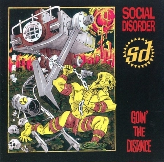 【USED】SOCIAL DISORDER / GOIN' THE DISTANCE