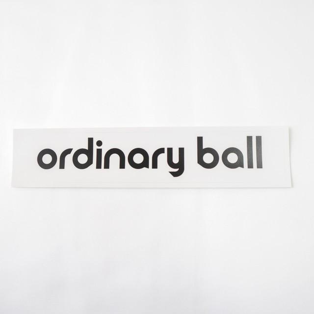 ordinaryball ロゴステッカー