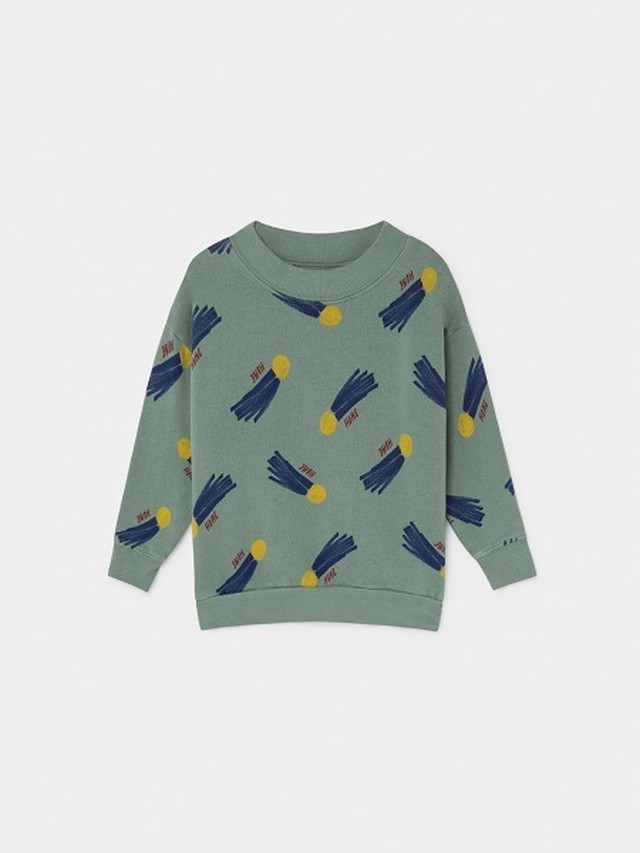 【19AW】ボボショセス(BOBO CHOSES) -ALL OVER A STAR CALLED HOME SWEATSHIRT[2-3y/4-5y/6-7y]