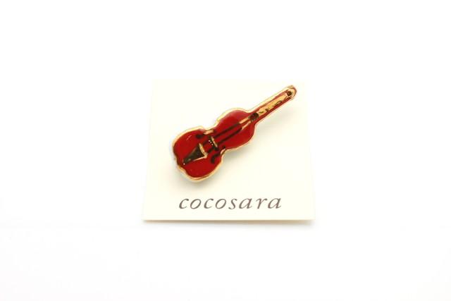 有田焼ブローチ バイオリン (小)3