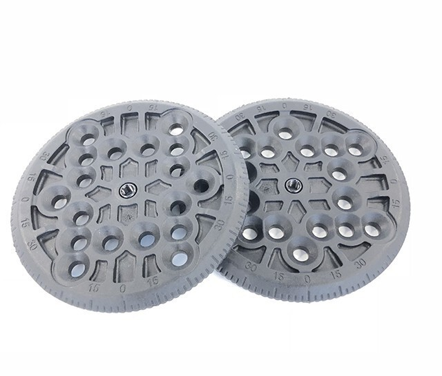 COMBIDISC 4X4 FOR PLASTIC BASEPLATES (PAIR)