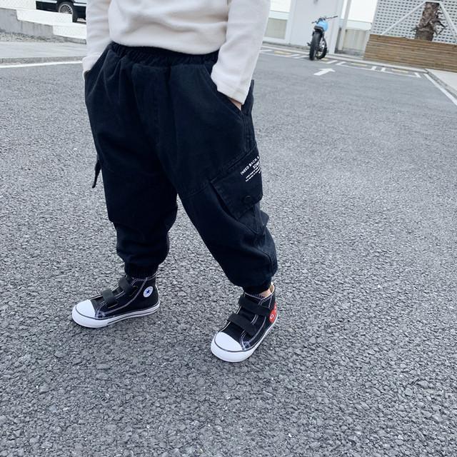 【ボトムス】ファッション ストリート系 コットン アルファベット ロングパンツカジュアルパンツ24945817