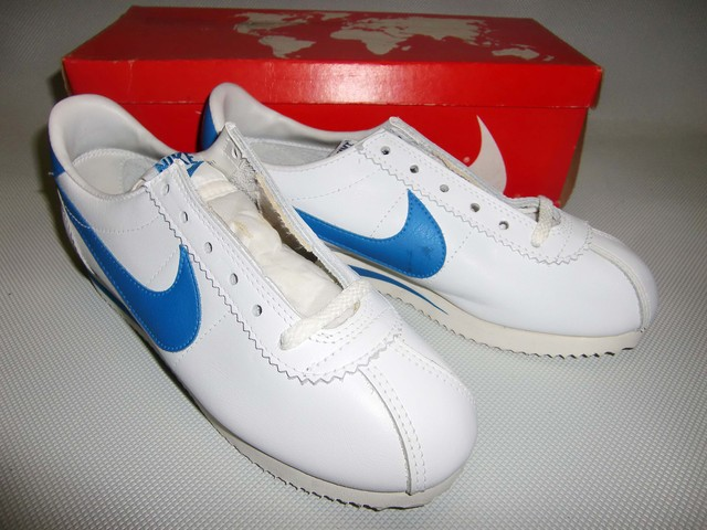 NIKE  LEATHER CORTEZ   W/LB  1981  22.5cm  Dead Stock