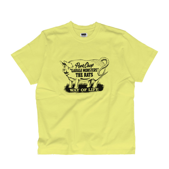 GARAGE MONSTERS TEE/YELLOW