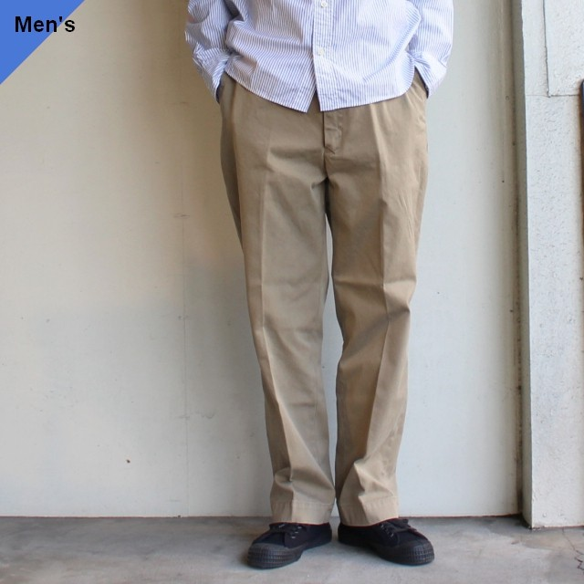 ENDS and MEANS ワークチノ Work Chino  EM-ST-P01 Beige