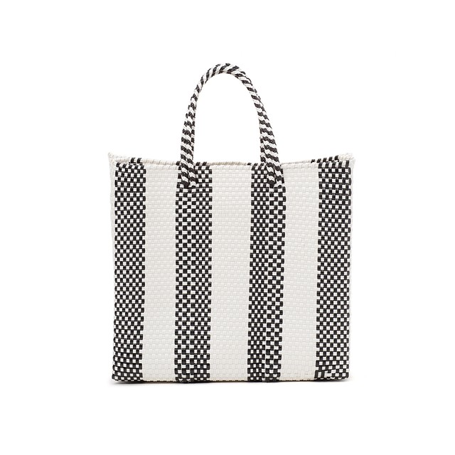 MERCADO BAG 4LINES-Black (S)
