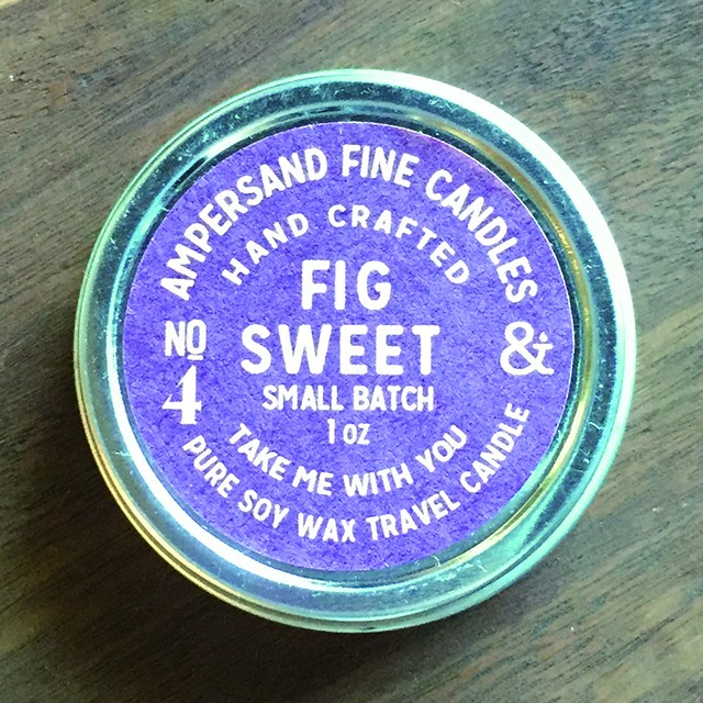 1oz Travel Can -FIG SWEET- キャンドル Candles - メイン画像
